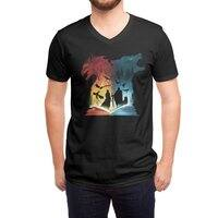 Book of Fire and Ice - vneck - small view