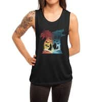 Book of Fire and Ice - womens-muscle-tank - small view