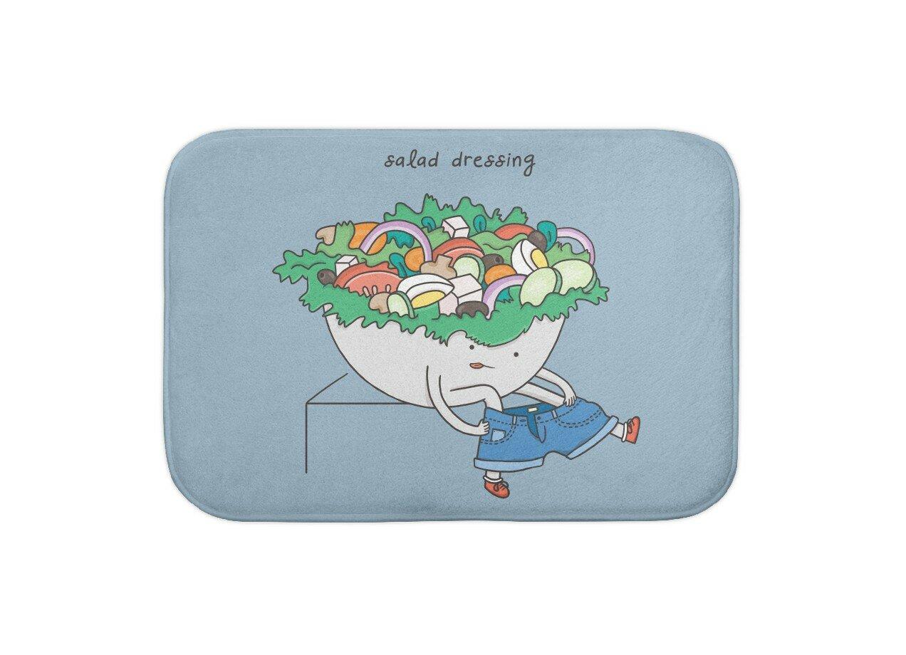 Salad Dressing By Marilisa And Menottees Blanket Threadless