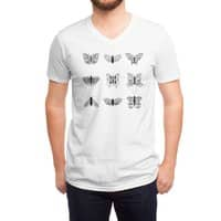 wright's butterflies  - vneck - small view