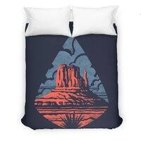 Monument Valley - duvet-cover - small view