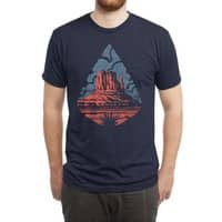 Monument Valley - mens-triblend-tee - small view