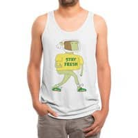 Stay Fresh - mens-triblend-tank - small view