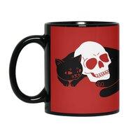 Spooky Cat - black-mug - small view