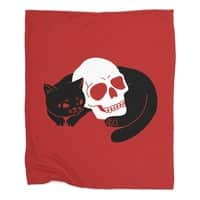 Spooky Cat - blanket - small view