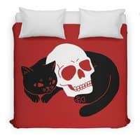 Spooky Cat - duvet-cover - small view