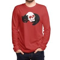 Spooky Cat - mens-long-sleeve-tee - small view
