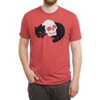 Spooky Cat - mens-triblend-tee - small view