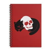 Spooky Cat - spiral-notebook - small view
