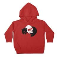 Spooky Cat - toddler-pullover-hoody - small view