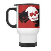 Spooky Cat - travel-mug-with-handle - small view