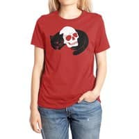 Spooky Cat - womens-extra-soft-tee - small view