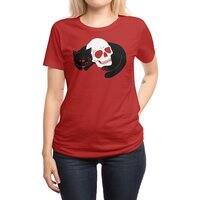 Spooky Cat - womens-regular-tee - small view