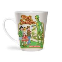Don't Talk to Strangers - latte-mug - small view