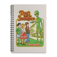 Don't Talk to Strangers - spiral-notebook - small view
