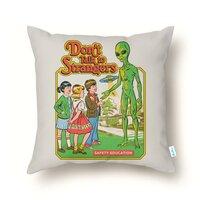 Don't Talk to Strangers - throw-pillow - small view