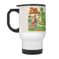 Don't Talk to Strangers - travel-mug-with-handle - small view