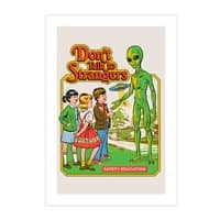 Don't Talk to Strangers - vertical-print - small view