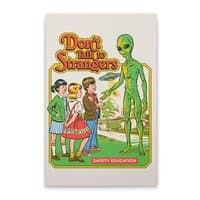 Don't Talk to Strangers - vertical-stretched-canvas - small view