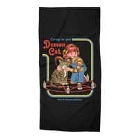 Caring for Your Demon Cat - beach-towel - small view