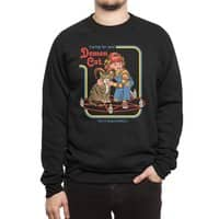 Caring for Your Demon Cat - crew-sweatshirt - small view