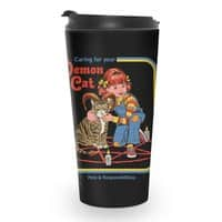 Caring for Your Demon Cat - travel-mug - small view
