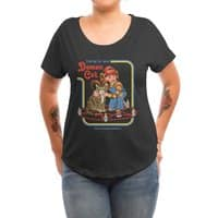 Caring for Your Demon Cat - womens-dolman - small view