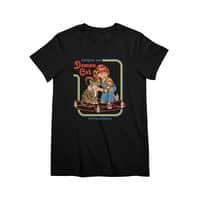 Caring for Your Demon Cat - womens-premium-tee - small view