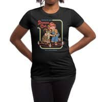 Caring for Your Demon Cat - womens-regular-tee - small view