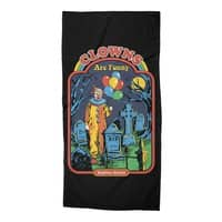 Clowns Are Funny - beach-towel - small view