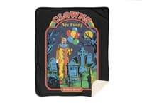 Clowns Are Funny - blanket - small view