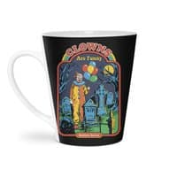 Clowns Are Funny - latte-mug - small view