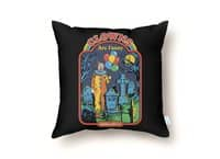 Clowns Are Funny - throw-pillow - small view
