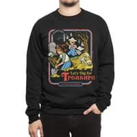 Let's Dig for Treasure - crew-sweatshirt - small view