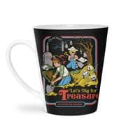 Let's Dig for Treasure - latte-mug - small view