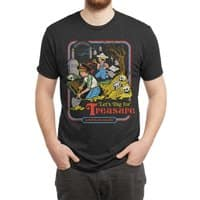 Let's Dig for Treasure - mens-triblend-tee - small view