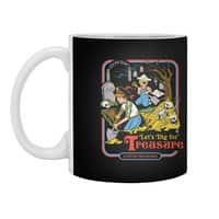 Let's Dig for Treasure - white-mug - small view