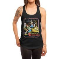 Let's Dig for Treasure - womens-racerback-tank - small view