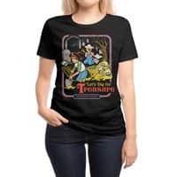 Let's Dig for Treasure - womens-regular-tee - small view