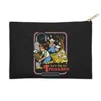Let's Dig for Treasure - zip-pouch - small view