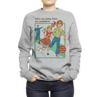 Let's Run Away - crew-sweatshirt - small view