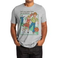 Let's Run Away - mens-extra-soft-tee - small view