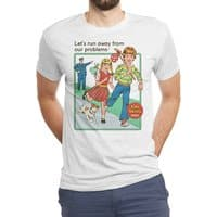 Let's Run Away - mens-triblend-tee - small view