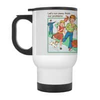 Let's Run Away - travel-mug-with-handle - small view