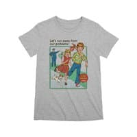 Let's Run Away - womens-premium-tee - small view
