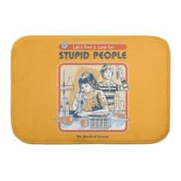A Cure for Stupid People - bath-mat - small view