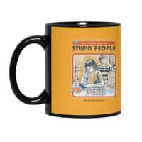 A Cure for Stupid People - black-mug - small view