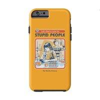 A Cure for Stupid People - double-duty-phone-case - small view