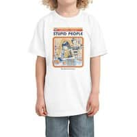 A Cure for Stupid People - kids-tee - small view
