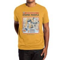 A Cure for Stupid People - mens-extra-soft-tee - small view